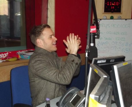 Olly Murs visits Ed and Rachel