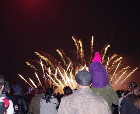 Pype Hayes Fireworks Evening