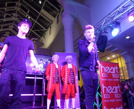 Royal Victoria Place Christmas light switch on!