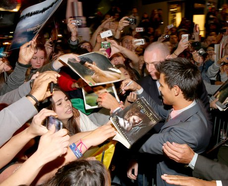 Taylor Lautner and Twilight fans