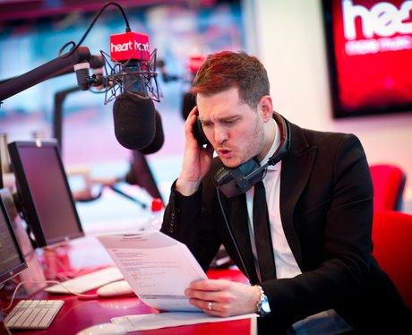 Michael Bublé phones Heart listeners