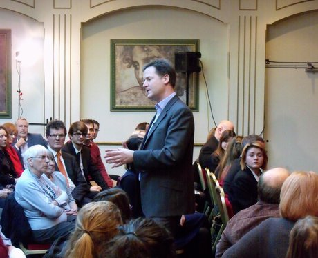 Nick Clegg meets St Albans