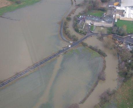 Flooding at Holt