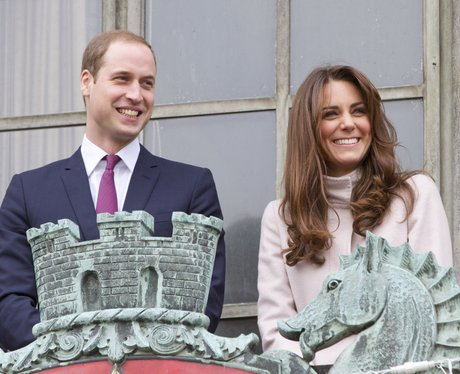 Prince William and Kate Middleton visit Guildhall