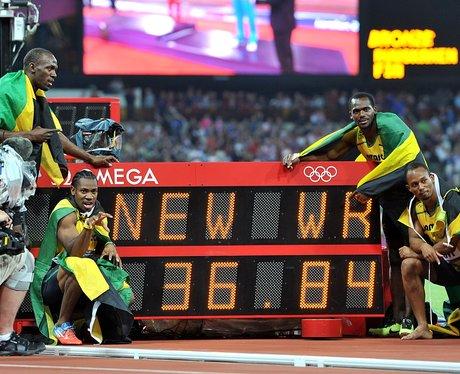 Jamaica relay team Olympics World Record