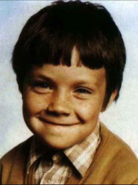 Robbie Williams as a child