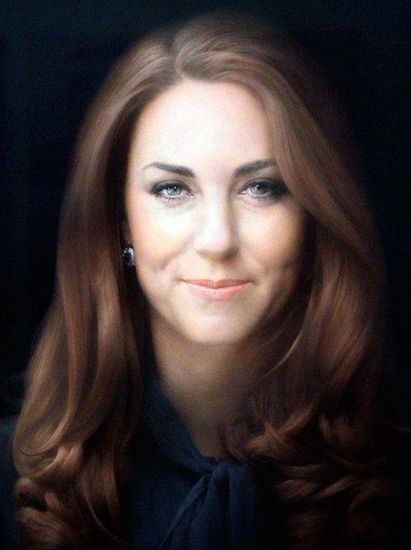 Duchess of Cambridge portrait by Paul Emsley