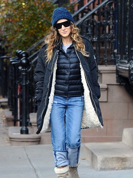 Sarah Jessica Parker in New York