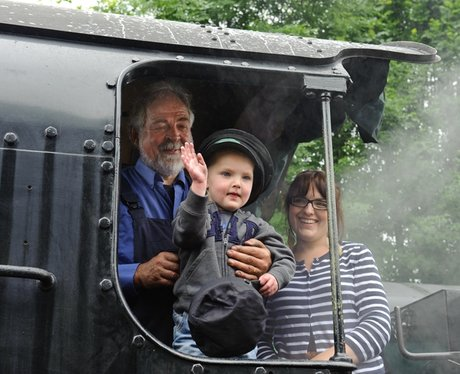 My wish is to drive a steam train...