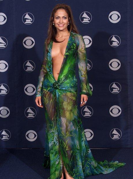 Jennifer Lopez at the 2000 Grammys