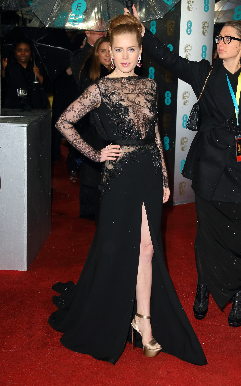 Amy Adams at the Baftas 2013