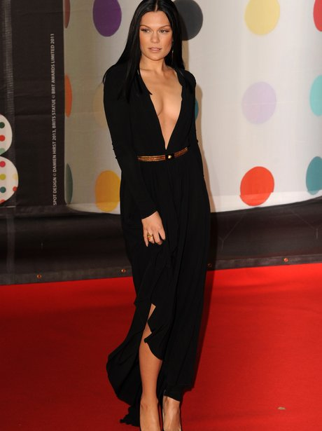 Jessie J at the BRIT Awards 2013