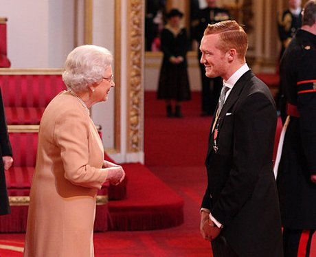 Greg Rutherford Receives MBE