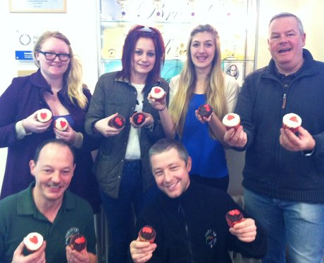 Heart Sales Team Cake Off