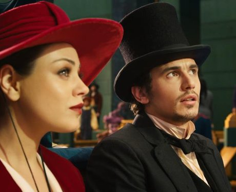 mila kunis and james franco in oz the great and powerful