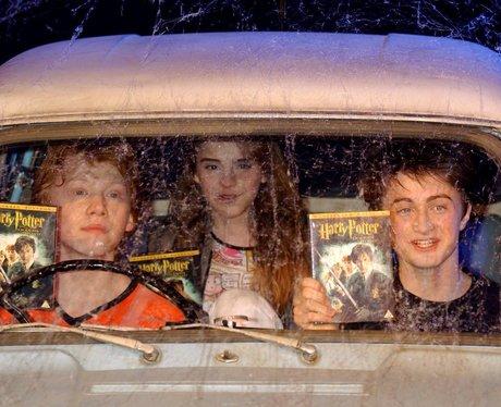 Harry Potter cast launch dvd