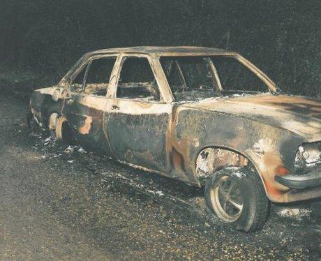 Eddie Maher car after