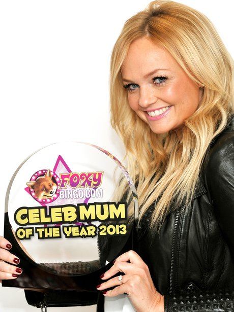 Emma Bunton Foxy Bingo Mum of the Year 2013