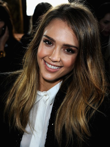 Jessica Alba Paris Fashion Week 2013