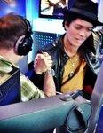 JK Arm wrestles Bruno Mars