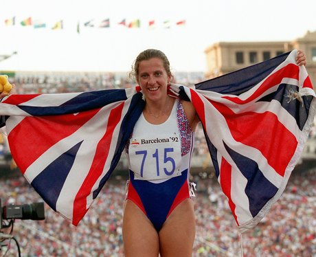 Sally Gunnell Olympics 1992