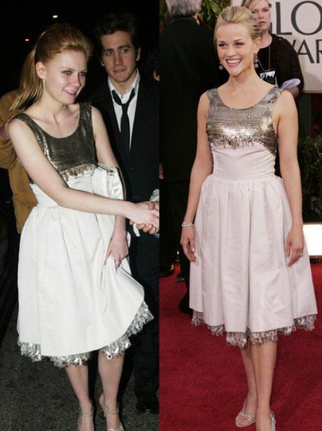Kirsten Dunst and Reese Witherspoon