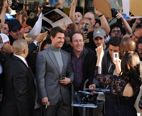 Tom Cruise Oblivion premiere in Los Angeles