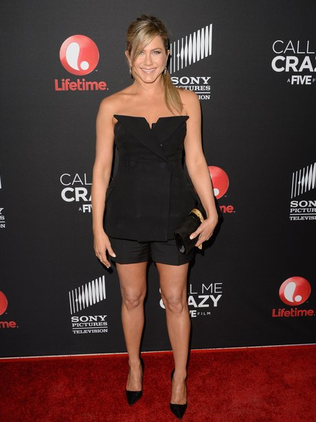Jennifer Aniston at Call Me Crazy premiere April 2