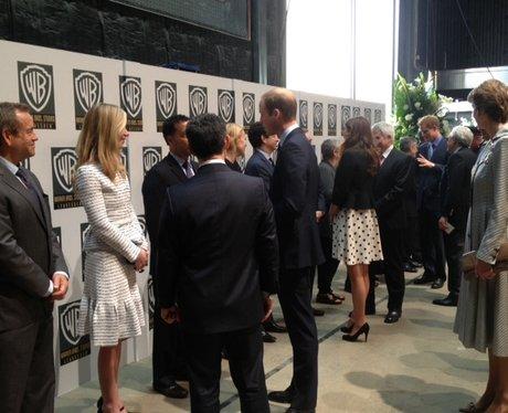 Kate, William & Harry At Hogwarts