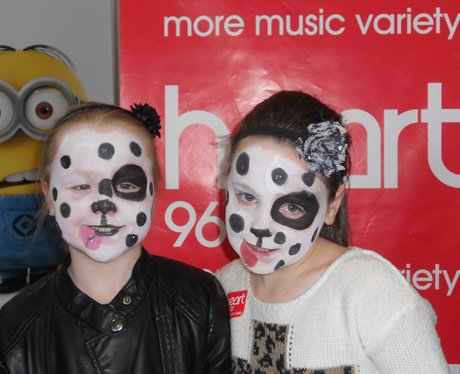 odeon Wrexham face painting