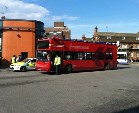 Bus Crash in Chelmsford