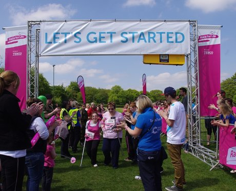 Walsall Race for Life 2013