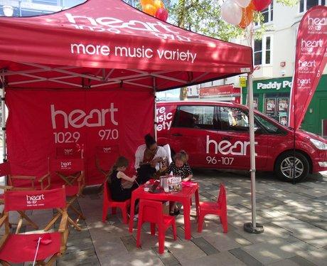 Heart at Basingstoke Festival Launch