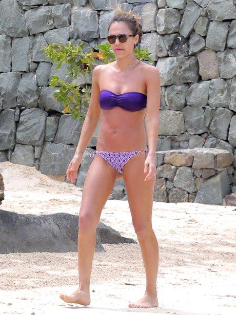 Jessica Alba on holiday