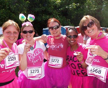 Medal Time  - Windsor Race for Life 1/06/2013