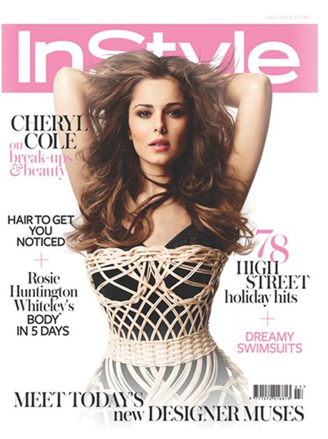 Cheryl Cole in InStyle Magazine