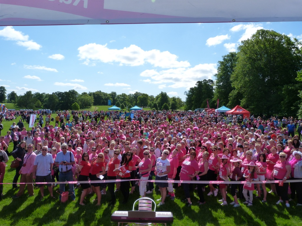 Race For Life Pre Race