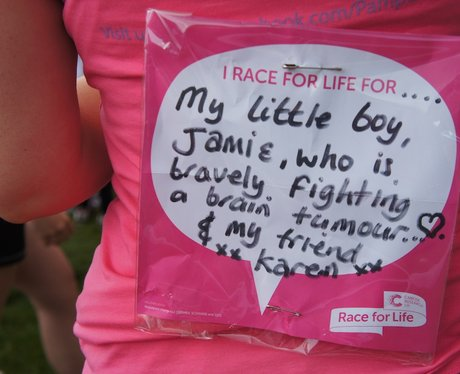 Redditch Race For Life - Messages
