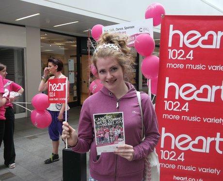 Cheltenham Race for Life Launch 2013