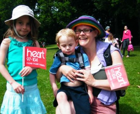 Did you bump into The Heart Angels in Tilgate Park