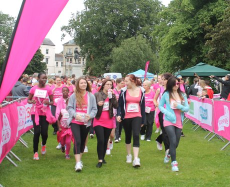 Race for Life Gloucester 2013
