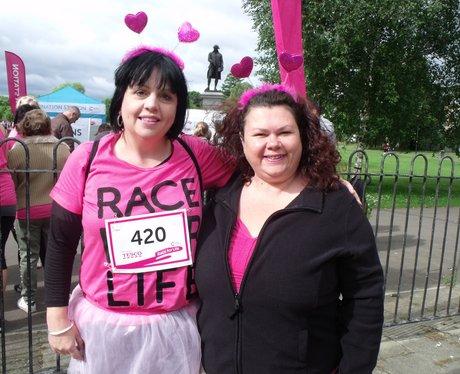 Race for Life Gloucester Pre Race