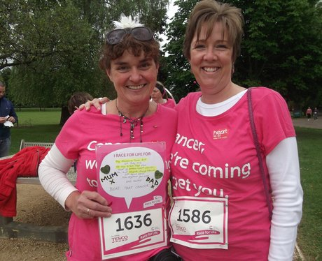 Race for Life Gloucester Pre Race