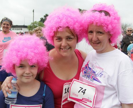Crazy Costumes at Race For Life Coventry