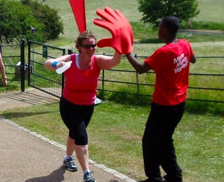 Heart Cheer Zone at Milton Keynes R4L