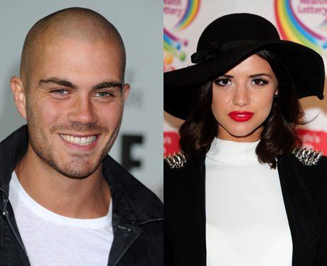 Max George and Lucy Mecklenburgh