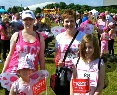 You Smiles at Race for Life in Milton Keynes