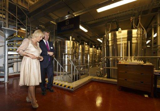 Camilla Opens Hampshire Winery