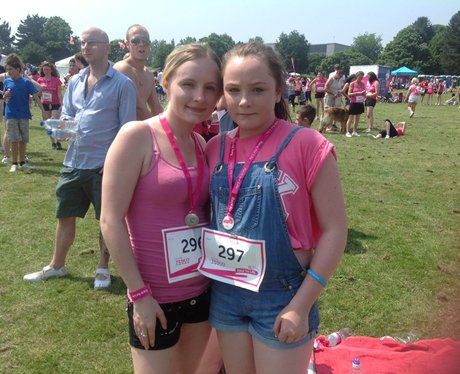 Maidstone Race for Life 5K - Medals