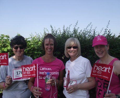 Newbury Race for Life - Pink Ladies